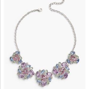 Talbots Pastel Jeweled Statement Necklace
